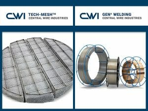 mist elimination filters and welding wire