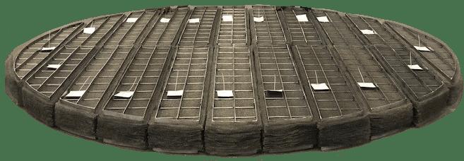 Large Custom Demister Pads