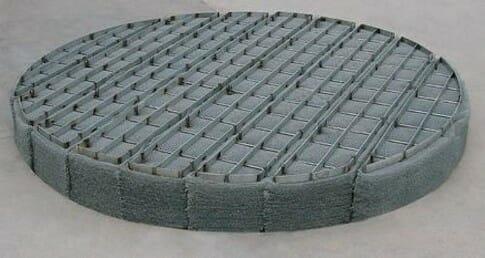 circle mist eliminators and demister pads